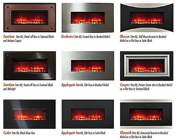 Portland Williamette-Electric Fireplace-Multiple Pictures ...