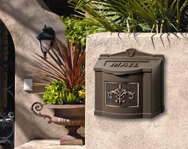 Gaines Wallmount Mailbox Fluer Di Les