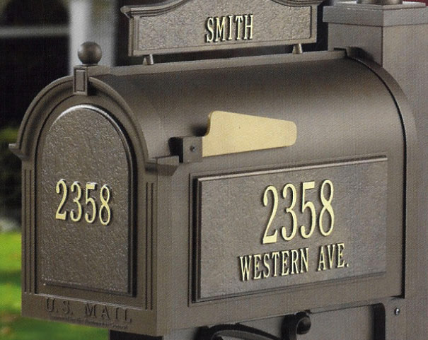 Whitehall Street Side Mailbox