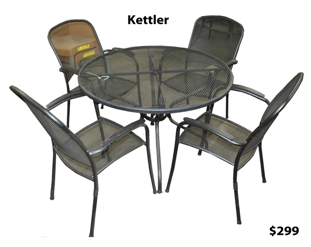Patio furniture arlington heights chicago il patio for Chaise kettler