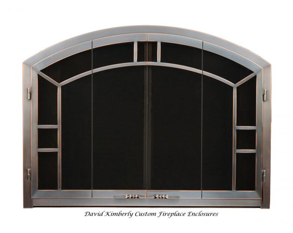 David Kimberly Arch Aztec Design Reflection Series III Bifold