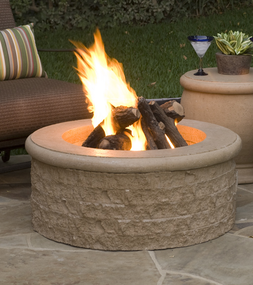 American Fyre Design Chiseled Fire Pit