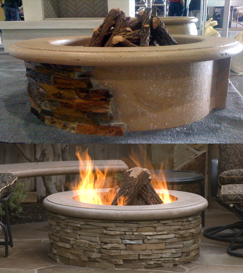 American Fyre Design Contractor's Model Fire Pit