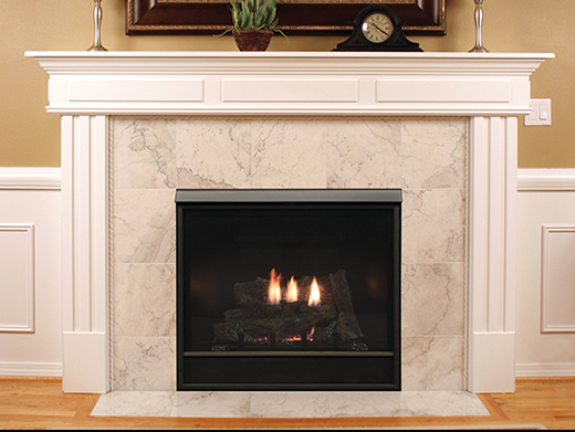 White Mountain Hearth Tahoe Clean-Face Luxury Traditional (DVCX)