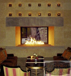 Mason-Lite Gas Burning Fireplace