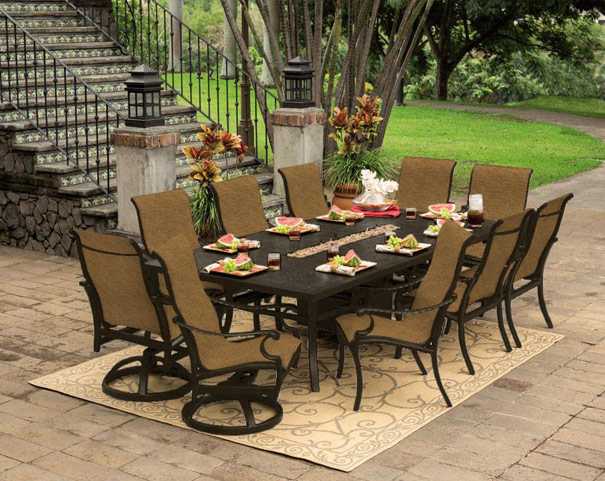 Transitional Patio Furniture Fireplace Service Chicago