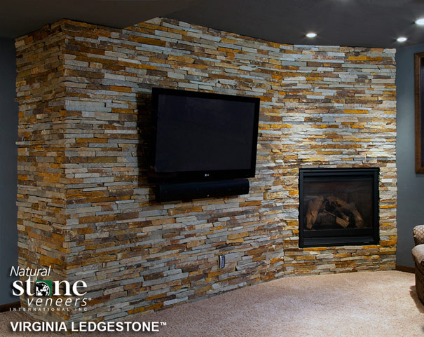 Natural Stone Veneers Virginia Ledgestone