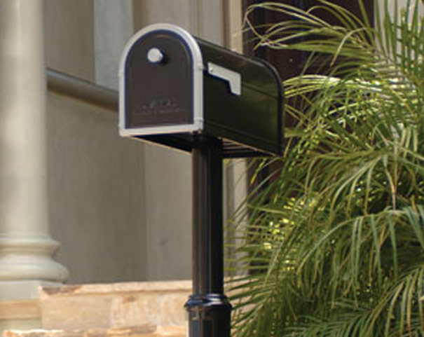 Architectural Mailbox Post Mount