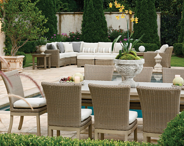 Summer Classics Rustic Wicker