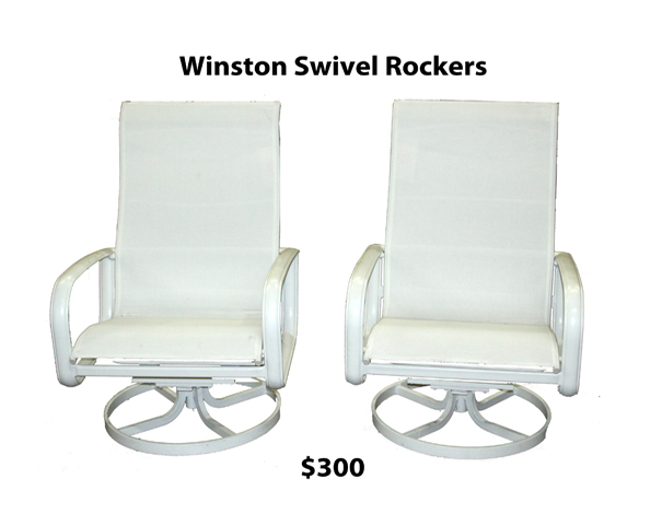 Winston Swivel Rockers