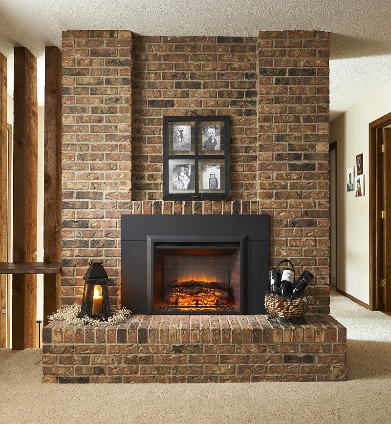 Outdoor Great Room Gallery Electric Fireplace Insert (36″ or 42″)