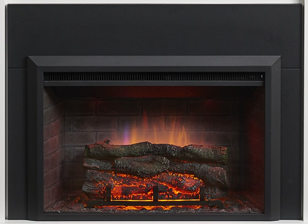 Outdoor Great Room Gallery Zero-Clearance Electric Fireplace Insert (36″ or 42″)