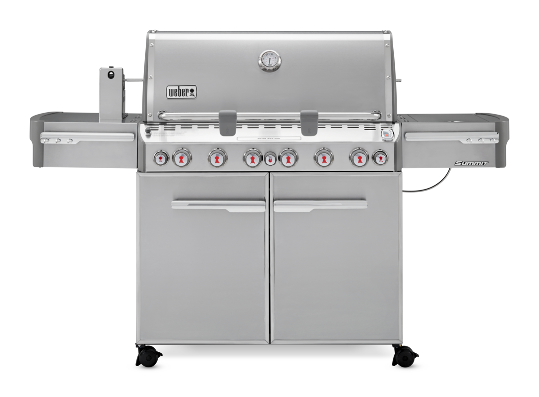 Summit S-670 Gas Grill Stainless Steel LP