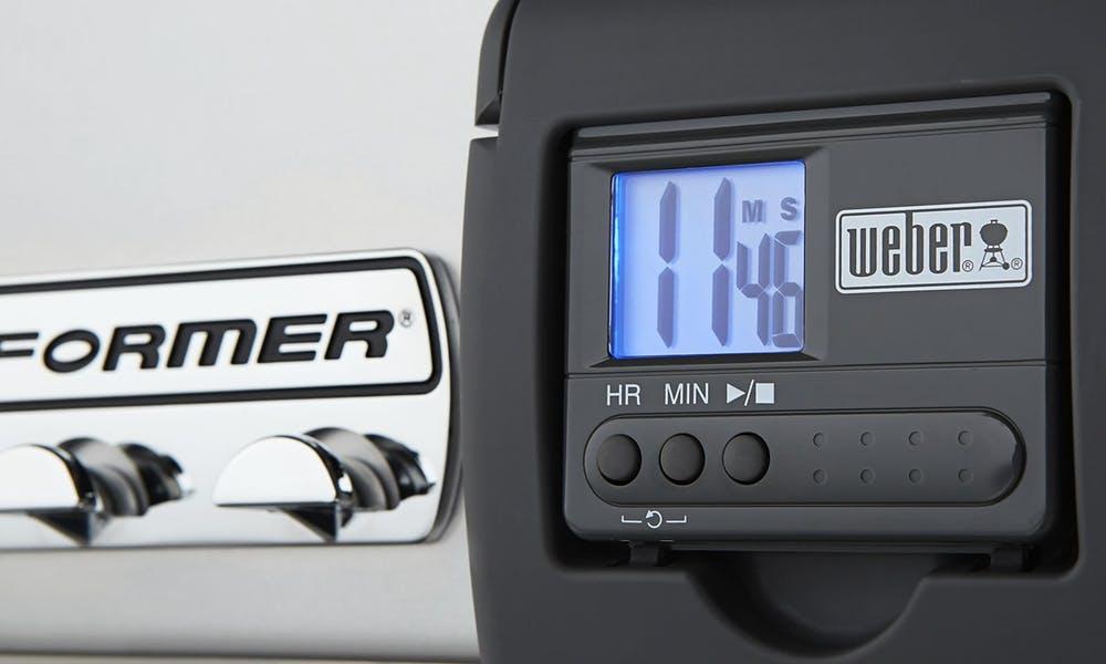 Removable Backlit LCD Cook Timer